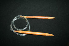 60 cm CIRCULAR CARBONIZED BAMBOO FLEXIBLE KNITTING NEEDLE 2 mm-10 mm ARTHRITIS