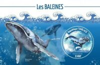 Togo - 2019 Whales on Stamps - Stamp Souvenir Sheet - TG190139b