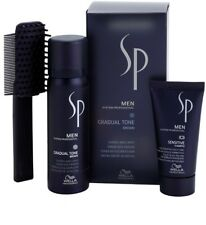 Wella SP Men Gradual Tone Black Pigment Mousse 60ml & Sensitive Shampoo 30ml for