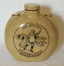 Denby The Artic Foot warmer vintage Art Deco antique Polor Exploration bottle