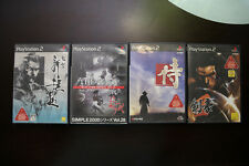 Playstation 2 Fu-un Shinsengumi+Kengo+Way of The Samurai JP PS2 4 game US Seller