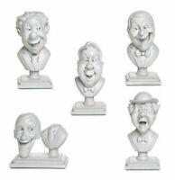Disney Parks The Haunted Mansion Figurine Singing Bust Set New Halloween