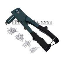 Heavy Duty 1Way Hand Riveter Pop Rivet Gun 3/32 1/8 5/32 3/16 & 140 Rivets Blind