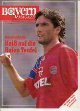 BL 91/92 FC Bayern München - 1. FC Kaiserslautern