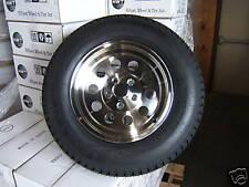 "Set of (2) 14"" ALUMINUM MODULAR HOLE Trailer Rim / Tire Wheel Assembly"