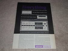 Harman Kardon Festival III,A500 Amp,Article,1 pg, Tube
