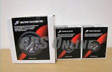 Mercury Marine Analog Gauge Set- Black - 7K Tachometer, trim, hour meter