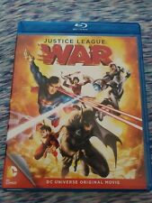 New listing Justice League War (Blu-ray/Dvd, 2014, 2-Disc Set, No Digital Copy)
