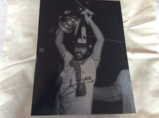 1981 FA CUP  RICKY VILLA SIGNED PHOTO COA TOTTENHAM
