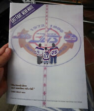 RARE Winnipeg Jets program Game 4 April 23 1996 playoffs Detroit Red Wings!!!