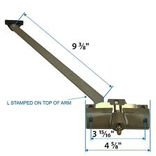 """Andersen #7191-32 Operator ( Left Hand ) with 9-3/8"""" Arm Length in Stone Color ("""