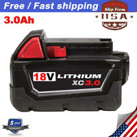 For Milwaukee M18 Lithium XC 4.0 Extended Capacity Battery Pack 48-11-1828 3.0Ah