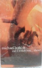Michael Bolton Can I Touch You There 1995 Vintage Cassette Tape Single NOS
