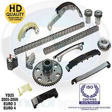 Pour Nissan Navara Pathfinder 2.5 TD Diesel D40 R51 YD 25 DDTI Timing Chain Kit > 09