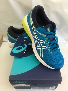 ASICS Girl's, GT 1000 7 Running Sneakers Color Race Blue/Neon Lime Size 3 NIB
