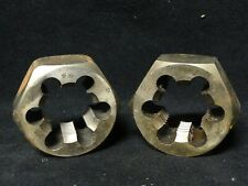 Champion Carbon Steel Hex Die Size 1 14 7 Lot Of 2 Minor Surface Rust