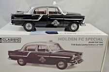 1:18 Holden FC Special SILVER TOP TAXI Ltd Edition Classic Carlectables 18581