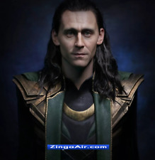 Life Size Loki Avengers Thor Posing Wax Statue Movie Prop Display Style 1:1