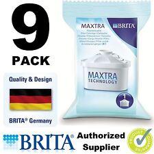 9 x BRITA MAXTRA New Water Filter Jug Refills Genuine Replacement Cartridges