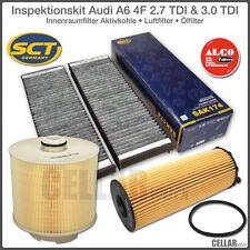 Inspektionspaket / Filterset (3-tlg.) Audi A6 4F 2.7 TDI & 3.0 TDI bis 10/2008