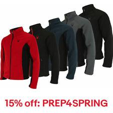 Nueva con etiquetas para hombres Spyder bandido Full Zip chaqueta de lana Stryke saliente capa superior