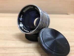 Opt Near Mint Nikon Nikkor S.C 50mm 5cm F/1.4 LTM L39 Leica Screw Mount Japan