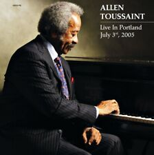 "Allen Toussaint ""Live In Portland"" July 3rd 2005 VINYL LP - NEW & SEALED"
