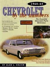 1960 1962 1963 1964 Chevrolet by the Numbers Parts  Book Reference Interchange