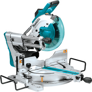Makita LS1019L-R 10 in. Dual‑Bevel Sliding Compound Miter Saw with Laser