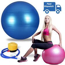 Exercise Gym Ball Yoga Swiss Pregnancy Birthing Anti Burst 25cm Stability Balls