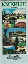 1983 Knoxville Tennessee Promotional Brochure