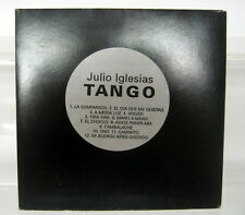 JULIO IGLESIAS CD PROMO . TANGO . RARE
