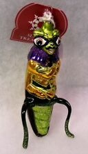Slavic Treasures Retired Glass Ornament - Rudy Roach (bugs) 2001