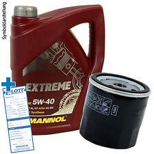 Ölwechsel Set 5 Liter 5W-40 Öl + Ölfilter