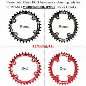 96BCD MTB Bike Chainring  Chainwheel 32 34T 36T 38T M7000 M8000 Deckas Round Ova