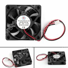 1x DC Brushless Ventilateur de Refroidissement 24V 6015B 60x60x15mm 0.13A 2 Pin