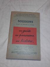 Guide Michelin des champs de bataille -Soissons- 1914 1918 Ww1 - parfait état