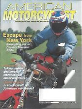 AMA Magazine September 2002 Lance Oliver Escapes From New York RARE!