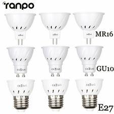 LED Spot Lights Bulbs GU10 MR16 E27 2835 SMD Lamp 15W 25W 35W Equivalent 220V RM