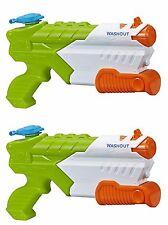 Pair of Nerf Super Soaker Washout NEW - Water Pistol Gun Hasbro Toy Blaster 2