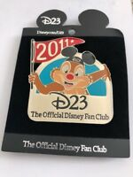 D23 The Official Disney Fan Club 2011 Disney Pin