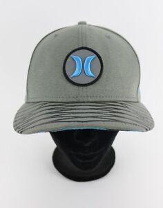 Hurley Baseball Cap Hat Aqua Gray Patch 9Fifty New Era