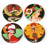 Flapper Girls Fridge Magnets Set 55mm 4pc Retro Art Deco Women Gift