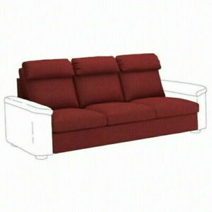 New IKEA LIDHULT Slipcover Sofa Seat Section Lejde Red Brown 004.050.67 Cover