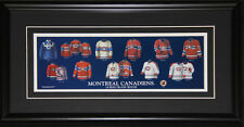 Montreal Canadiens Jersey Evolution Frame