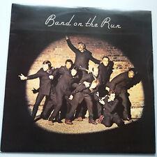 Paul McCartney - Band On The Run Vinyl LP UK 1st 1973 + Inner -2/-2 EX/EX