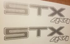 STX 4X4 DECALS ford -150 F-150 F-250 F-350 STICKERS gray  (set)