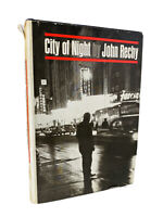 Vintage CITY OF NIGHT by John Rechy 1963 HCDJ 1st/2nd Printing Grove Press