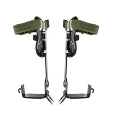 2 Gears Safety Tree Climbing Spike Utensil Set Survival Hunting Climbing Tool