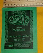 New listing 311 Hoobastank concert hand flyer charlotte nc free Us shipping